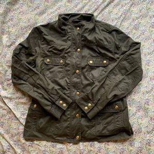 J.Crew Olive Green Field Jacket